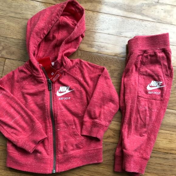 edf1d7b4495d Toddler Girls Nike Red Jumpsuit 12M. M 5ab82b2505f43009adbb2588